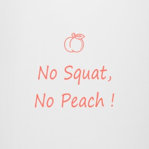 No squatting, no peach coral - Beer Mug