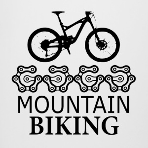 Mountain Biking Gears - love for mountain biking - Beer Mug
