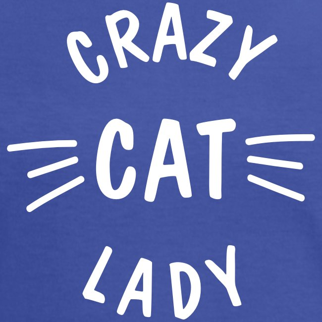 Crazy Cat Lady meow - Frauen Kontrast-T-Shirt