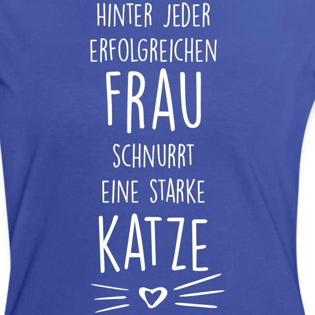 Vorschau: erfolgreiche frau - Frauen Kontrast-T-Shirt