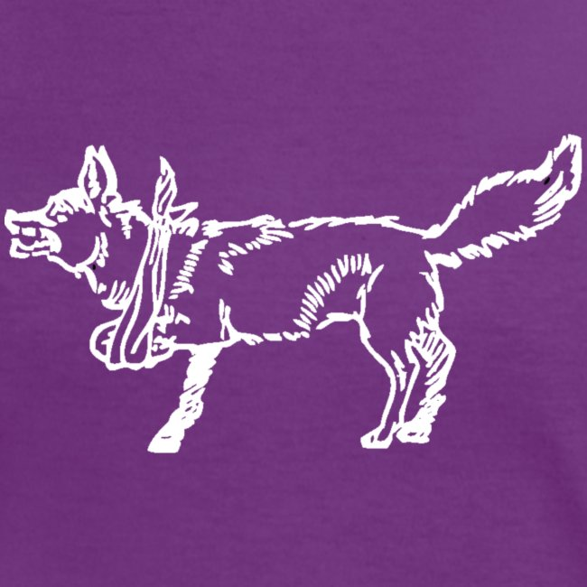 lame fox bw png