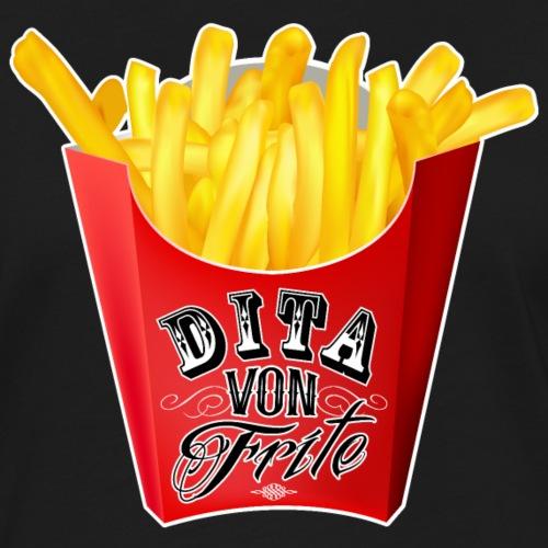 Dita Von Frites - T-shirt contrasté Femme