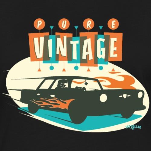 Pure Vintage Car - T-shirt contrasté Femme