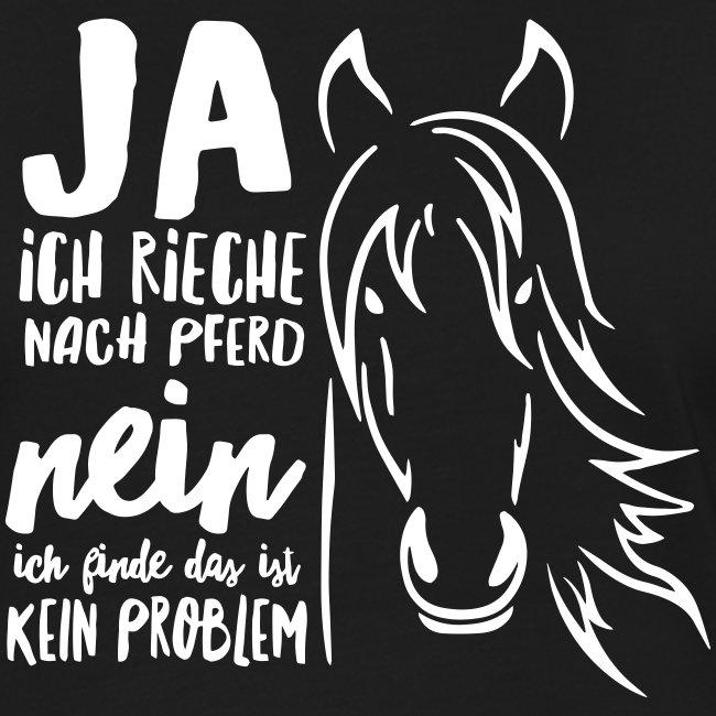 Vorschau: ja ich rieche nach Pferd - Frauen Kontrast-T-Shirt