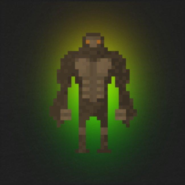 1980's Bigfoot Glow Design