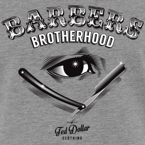 Barbers Brotherhood - T-shirt contrasté Femme