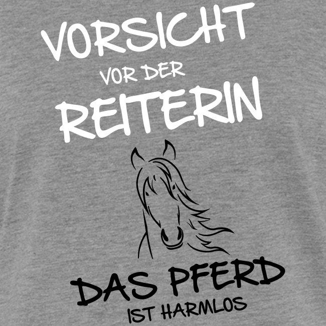 Vorschau: Vorsicht vor der Reiterin - Frauen Kontrast-T-Shirt