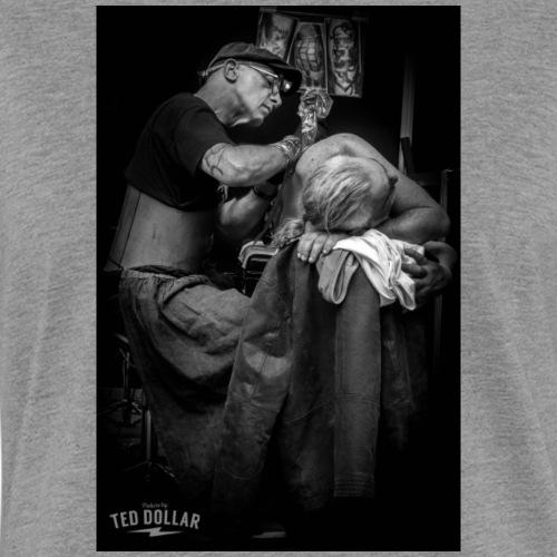 Tatto shop - T-shirt contrasté Femme
