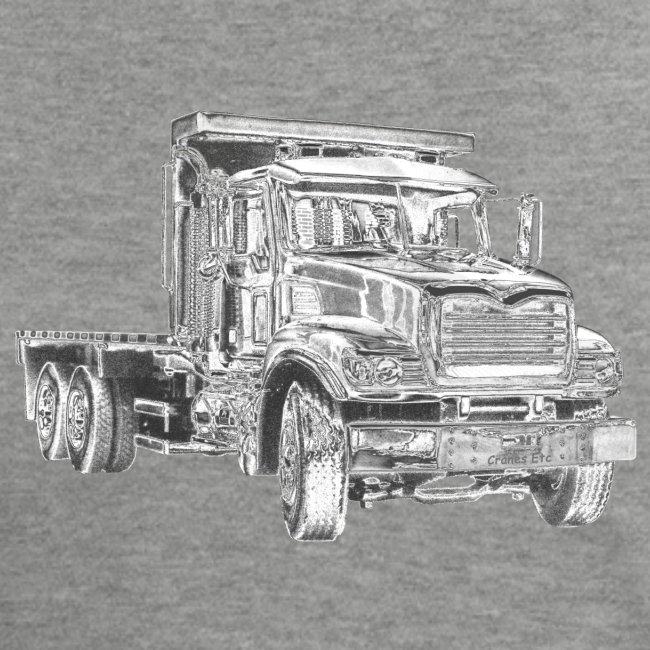 Flatbed Truck 3-axle