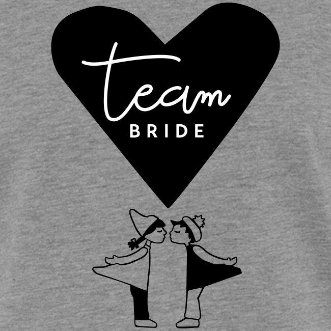 Team Bride - Kissing Dolls