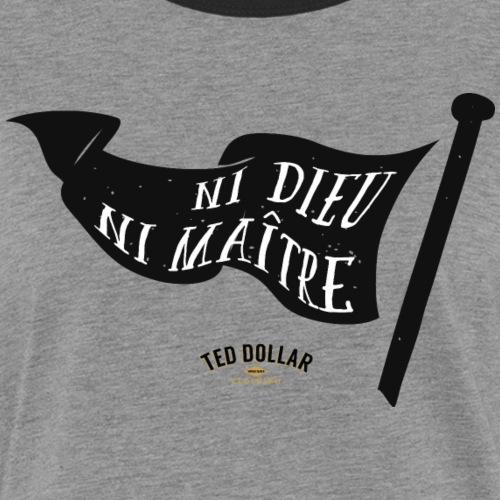 Black Flag - T-shirt contrasté Femme