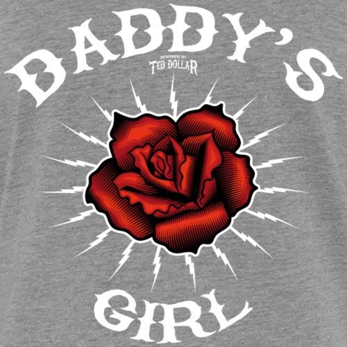 Daddy's girl rose - T-shirt contrasté Femme