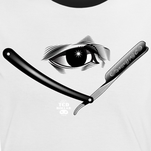 Razor Eye - T-shirt contrasté Femme