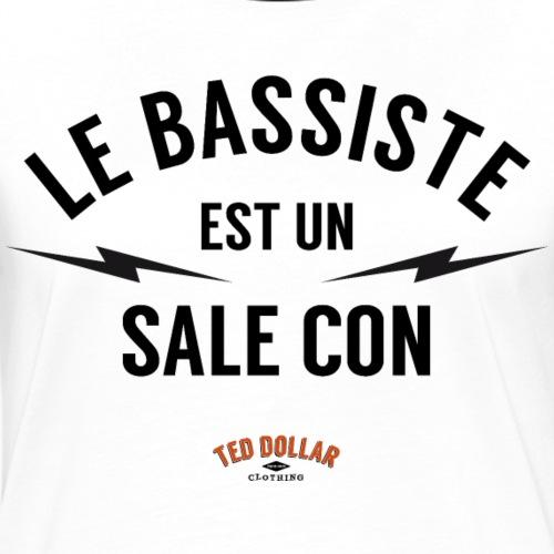 Le bassiste est un sale con - T-shirt contrasté Femme