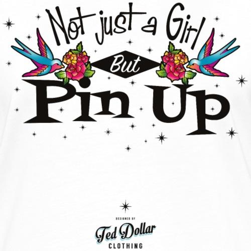 Not just a girl - T-shirt contrasté Femme