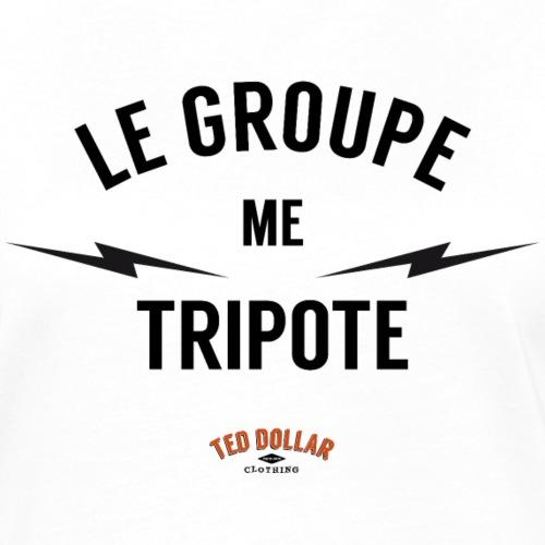 Le groupe me tripote - T-shirt contrasté Femme