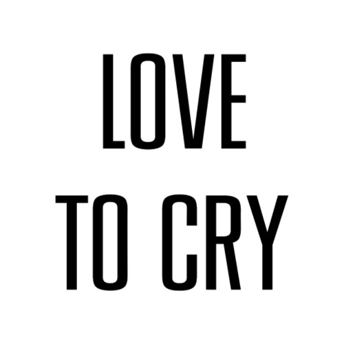 love to cry - T-shirt contrasté Femme
