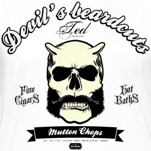 Mutton Chops Beard cut - T-shirt contrasté Femme