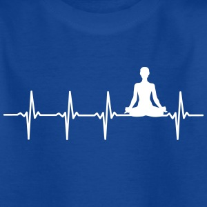 Yoga - Heartbeat Scene - Kinderen T-shirt