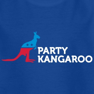 Political Party Animals: Kangaroo - Kids' T-Shirt