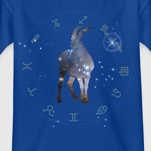 Stenbuk univers konstellation astrologi sternzeic - Børne-T-shirt