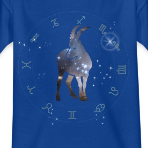 capricorn universe constellation astrology sternzeic - Kids' T-Shirt