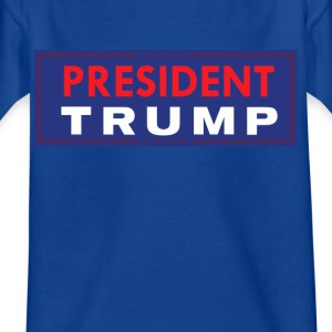 President Trump - T-skjorte for barn