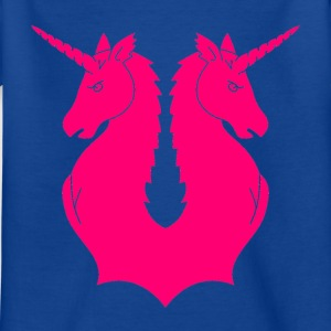 Double Unicorn - T-skjorte for barn