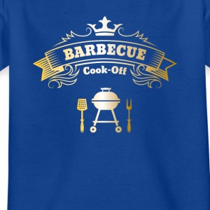 barbecue grill meester Koning Best steak mes - Kinderen T-shirt