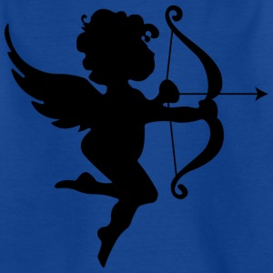 Cupid Bow and Arrow Angel Design for Lovers - T-skjorte for barn