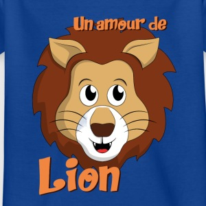 Un Amour de Lion - T-shirt Enfant