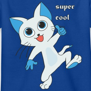 super cool Kitty - Kinderen T-shirt