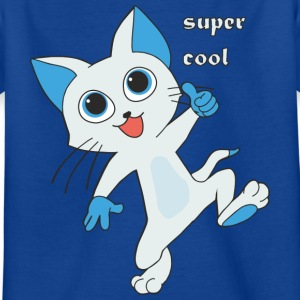 super coole Miez - Kinder T-Shirt