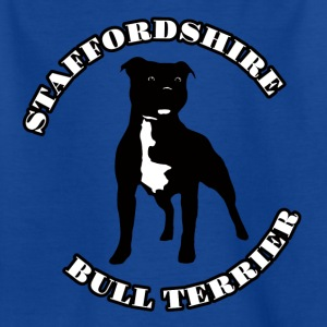 Staffordshire Bull Terrier - T-skjorte for barn