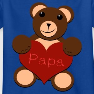 The Great Bear Heart - For Papa - Kids' T-Shirt