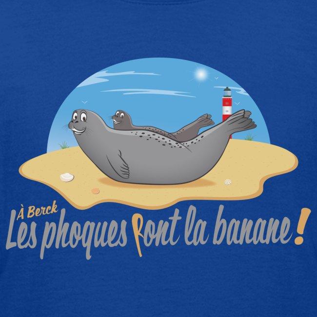 A Berck, les Phoques Font la banane!