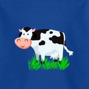 Vache Vector Cartoon - T-shirt Enfant