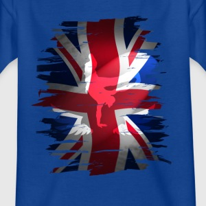 Union Jack skater Uk Flagge England London lol coo - Kinder T-Shirt