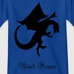 Black Dragon - Kinder T-Shirt
