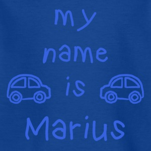 MARIUS MY NAME IS - T-skjorte for barn