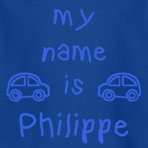 PHILIPPE MEIN NAME - Kinder T-Shirt