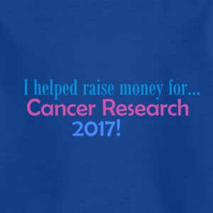 CANCER RESEARCH 2017! - T-skjorte for barn