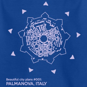 Beautiful city plans: Palma Nova - Kids' T-Shirt