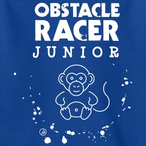 Junior obstacle racer - Kids' T-Shirt