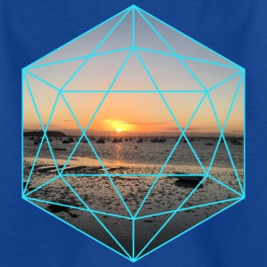 Geometric Sunset - Kids' T-Shirt