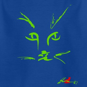Muzzle CAT'S GREEN - Kids' T-Shirt