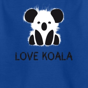 Koala animal cute bear fur cuddly australia l - Kids' T-Shirt
