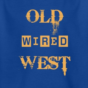 Old wired west - Kids' T-Shirt
