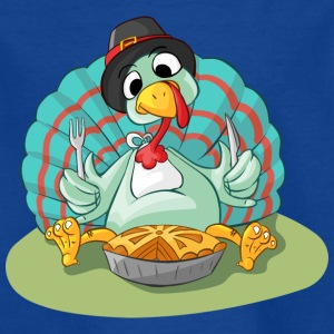 Truthahn - Turkey - Gobbler @ Thanksgiving - Kinder T-Shirt