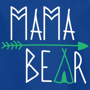 Mama Bear Women Ladies gave - T-skjorte for barn